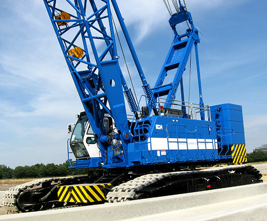 BPH Equipment crawler crane
